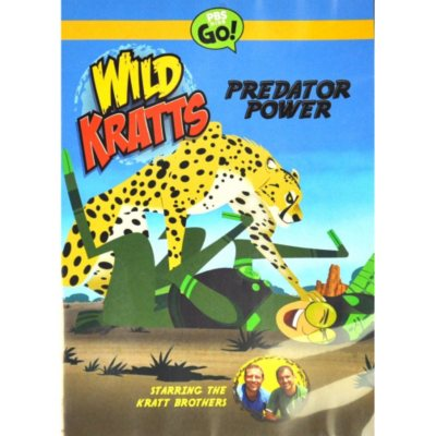 Wild Kratts: Predator Power.  Ends: Sep 3, 2014 1:30:00 AM CDT