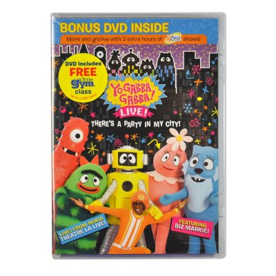 Yo Gabba Gabba! Live! There's a Party in My City! DVD