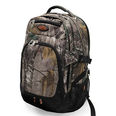 REALTREE Full Camo 3 Compartment Backpack.  Ends: Jan 30, 2015 5:55:00 AM CST