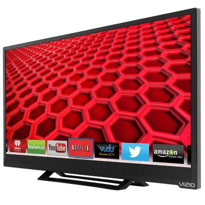 "24"" VIZIO Razor LED 1080p Smart TV w/ Wi-Fi.  Ends: Dec 1, 2015 4:00:00 PM CST"