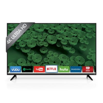 "VIZIO 55"" Class 4K Ultra HD LED Smart TV, D55u-D1.  Ends: Jul 31, 2016 5:00:00 AM CDT"