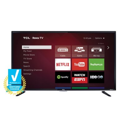 "TCL 50"" Class 1080p LED Roku Smart TV, 50FS3800.  Ends: Jul 30, 2016 10:00:00 AM CDT"