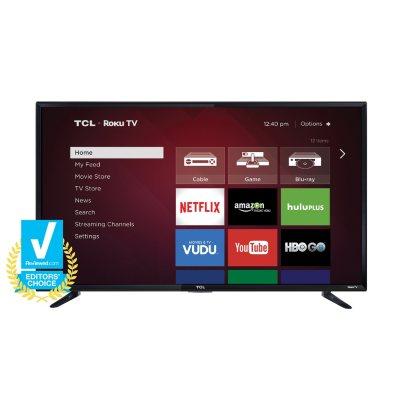 """TCL 48"""" Class 1080p LED Roku Smart HDTV, 48FS3750.  Ends: Jun 26, 2016 10:00:00 AM CDT"""