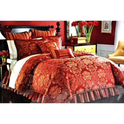 Lenox 8 pc. Queen Comforter Set, Lowell.  Ends: Jul 30, 2014 8:00:00 PM CDT