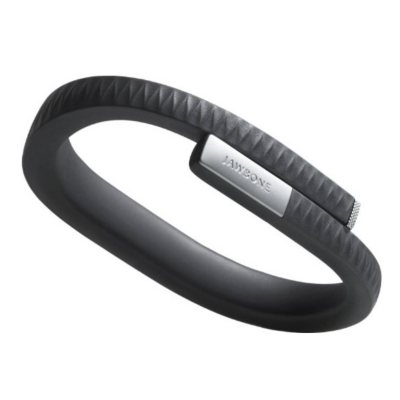 Jawbone UP Fitness Tracker Wristband, Onyx (Large).  Ends: Dec 19, 2014 12:30:00 AM CST