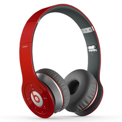 Beats Wireless Over the Ear Headphone, Red.  Ends: Nov 29, 2014 2:00:00 AM CST