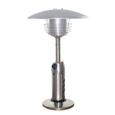Sunbeam Mini Stainless Steel Patio Heater.  Ends: Mar 6, 2015 2:06:00 PM CST