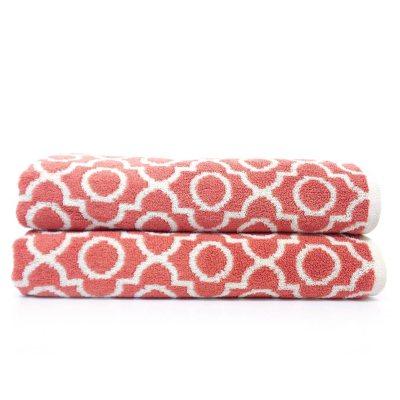 """Loft Fashion 100% Cotton Bath Towel, Rose (30"""" x 58"""") - 1 Towel.  Ends: Mar 2, 2015 9:00:00 AM CST"""