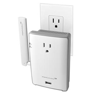 Amped wireless high power ac1200 range extender with ac pass thru and usb port - Wifi repeater with usb port ...