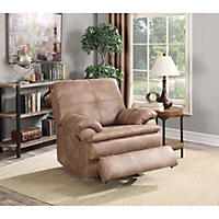Marks and Cohen Buck Faux-Leather Recliner