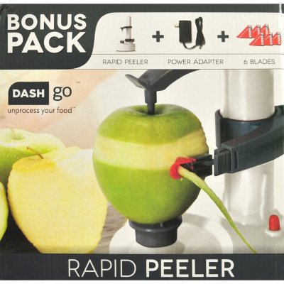 Dash Go Rapid Fruit and Vegetable Peeler, Grey.  Ends: Nov 29, 2015 5:50:00 AM CST