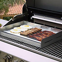 Suzzie-Q Stainless BBQ Griddle