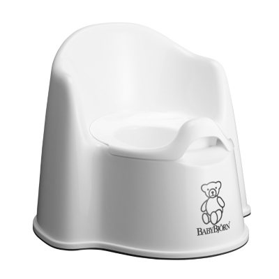 BabyBjörn Potty Chair, White.  Ends: Jul 31, 2016 5:00:00 AM CDT