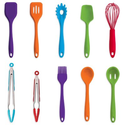 Art and Cook 10-Piece Silicone Utensil Set.  Ends: Mar 6, 2015 9:00:00 PM CST