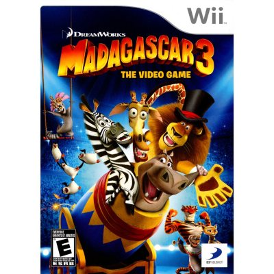 Wii - Madagascar 3: The Video Game.  Ends: Oct 20, 2014 4:45:00 PM CDT