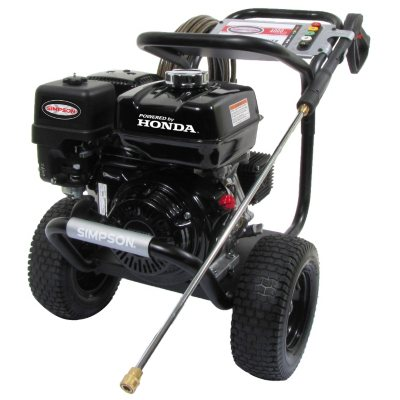 Simpson PowerShot 4,000 PSI - Commerical Gasoline Pressure Washer - Powered by Honda.  Ends: May 27, 2016 4:00:00 PM CDT