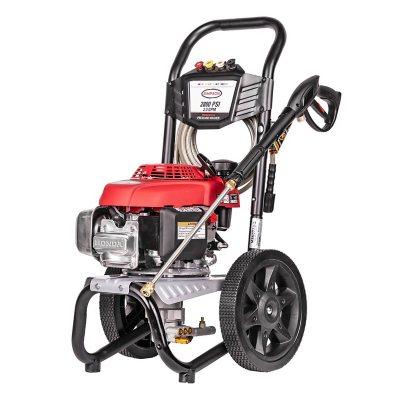Simpson®  MegaShot 2800 PSI 2.3 GPMGas Pressure Washer Powered by HONDA GCV160