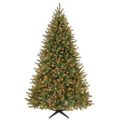 Pre Lit Aspen Pine Christmas Tree