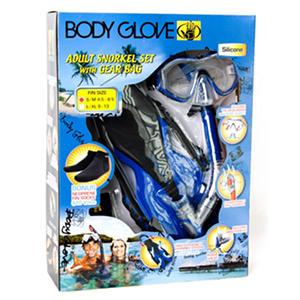 Snorkel gear glove body