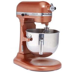 Kitchenaid professional hd stand mixer copper pearl auctions - Copper pearl kitchenaid mixer ...