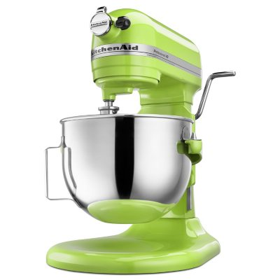KitchenAid Professional HD Stand Mixer, Green Apple.  Ends: Feb 26, 2015 9:15:00 PM CST