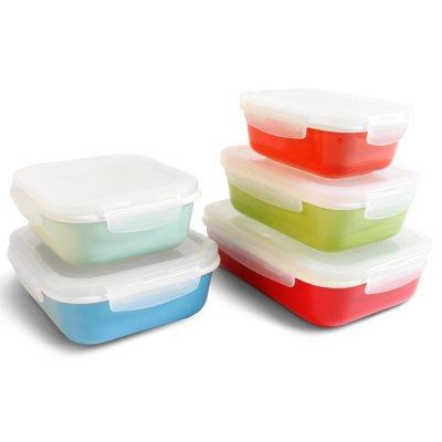 Neoflam 10-Piece CLOC Porcelain Food Storage Set.  Ends: Jan 29, 2015 12:05:00 AM CST