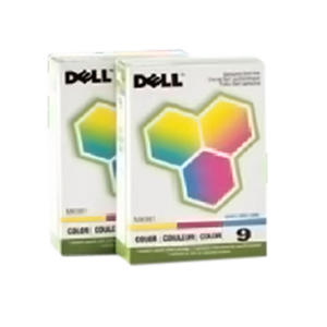 Dell Series 9 Color Ink Cartridge - 2 pack