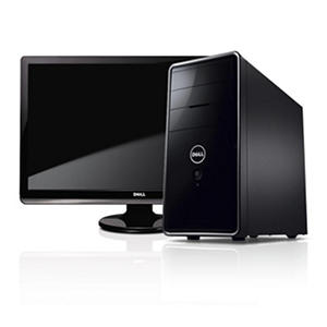 "Dell Inspiron 620 Desktop, Intel Core i5-2310, 1TB, 24"" LCD"