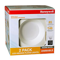 "Honeywell 5""/6"" Non-Adjustable LED Indoor Down Light Set (2-Pack)"