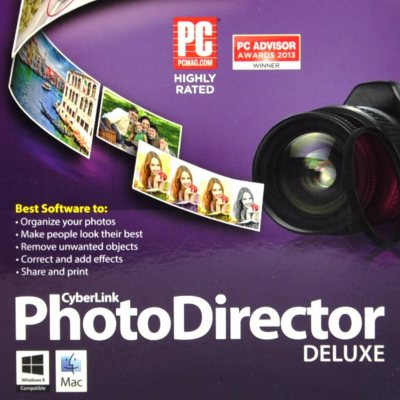 CyberLink PhotoDirector Deluxe Imaging Software.  Ends: Aug 1, 2014 9:25:00 AM CDT