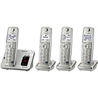 Panasonic 4 Handset Link2Cell Cordless Phone