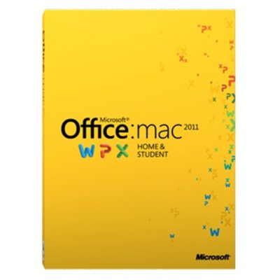 Microsoft Office Home and Student 2011 - Mac.  Ends: Apr 28, 2015 7:00:00 PM CDT