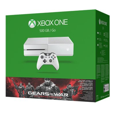 Xbox One 500GB White Console Gears of War: Ultimate Edition Bundle.  Ends: Jul 31, 2016 5:30:00 AM CDT