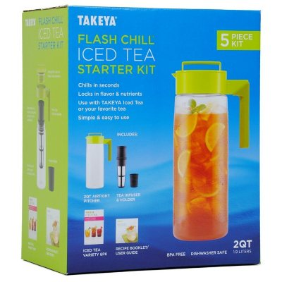 TAKEYA Flash Chill Iced Tea Starter Kit.  Ends: Dec 1, 2015 2:30:00 PM CST