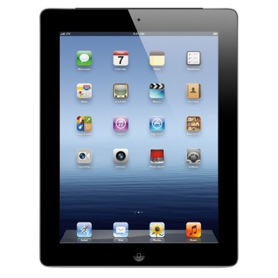 Apple iPad with Retina Display 16GB with 4G, Black (Sprint).  Ends: May 30, 2015 11:00:00 PM CDT