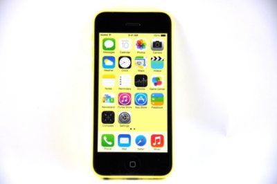 iPhone 5C, Yellow (AT&T).  Ends: Apr 28, 2015 5:00:00 PM CDT