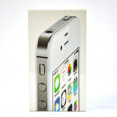 Verizon iPhone 4S, White (8GB).  Ends: Apr 19, 2015 5:00:00 PM CDT