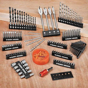 Black & Decker Drill and Screwdriver Power Tool Accessory Set - 195 pc.