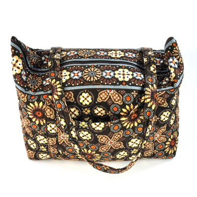 Vera Bradley Miller Bag.  Ends: Nov 23, 2014 12:25:07 AM CST