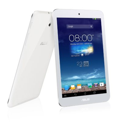 """ASUS MeMO Pad HD 8"""" 16GB Tablet - White.  Ends: Jan 27, 2015 11:00:00 AM CST"""