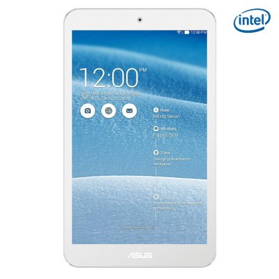 """8"""" ASUS ME181C Touch Screen Tablet, White (16GB).  Ends: Mar 31, 2015 11:00:00 AM CDT"""