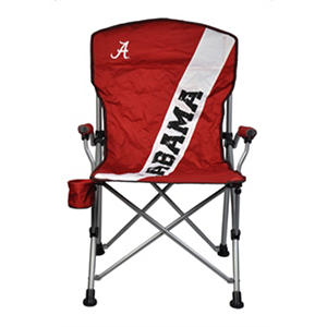 University Of Alabama Crimson Tide Folding Arm Chair