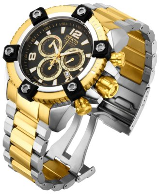 Invicta Arsenal Reserve Gold Tone Watch