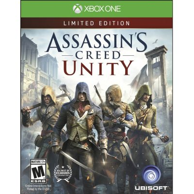 Assassin's Creed: Unity - Xbox One.  Ends: Nov 27, 2015 1:00:00 AM CST