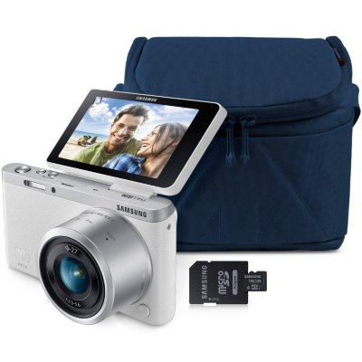 Samsung NX MINI 20.5MP Smart Wi-Fi Camera Bundle with 16GB microSD Card and Premium Camera Case.  Ends: Dec 18, 2014 8:00:00 PM CST