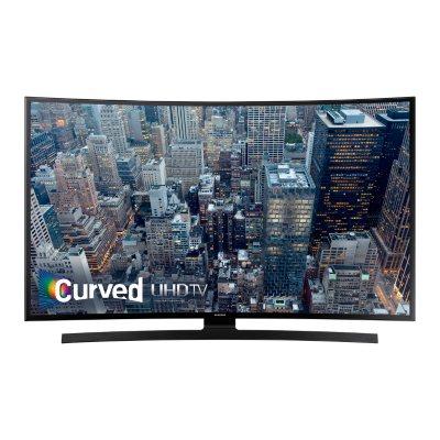 """Samsung 55"""" Class Curved 4K Ultra HD LED Smart TV, UN55JU670DFXZA.  Ends: Jun 26, 2016 9:15:00 AM CDT"""