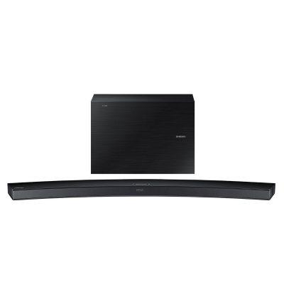 Samsung 6.1 Channel 300 Watt Curved Soundbar w/ Wireless Subwoofer.  Ends: May 3, 2016 10:00:00 PM CDT