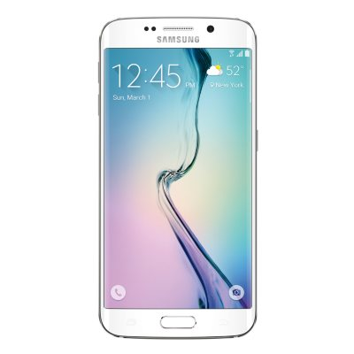 Samsung Galaxy S 6 Edge White Pearl - 32GB - Sprint.  Ends: May 31, 2016 5:45:00 PM CDT