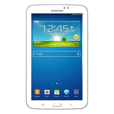 """Samsung Galaxy Tab 3, White (7.0"""").  Ends: Apr 21, 2015 11:00:00 AM CDT"""