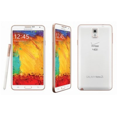 Samsung Galaxy Note 3 Android Smartphone, White (Verizon).  Ends: Mar 6, 2015 12:15:00 PM CST